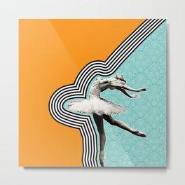 Flexible.Powerful.Beautiful Metal Print