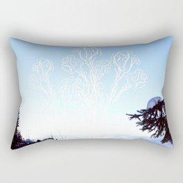 Ice flowers Rectangular Pillow
