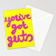 you've got guts Stationery Cards