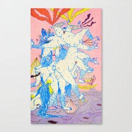 expel Canvas Print