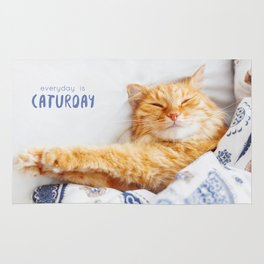 Everyday is caturday Rug