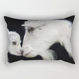 Baby and mother. Rectangular Pillow