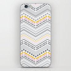 Dash & Dot - Neapolitan Chevron iPhone & iPod Skin