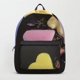 soap and natural sponge Backpack