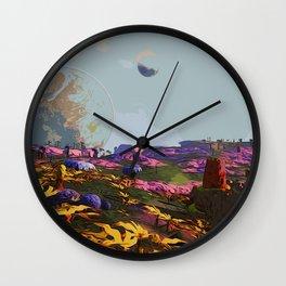 Goodmorning Lemuria Wall Clock