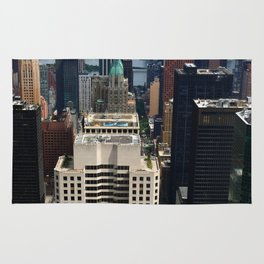 NewYork New York - A View Over Manhattan Rug