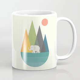 Walk In Peace Coffee Mug
