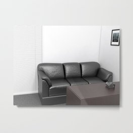 The Casting couch  Metal Print