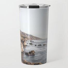 Big Sur | Monterey California Surfers Paradise Ocean Beach Landscape Wanderlust Photograph Travel Mug
