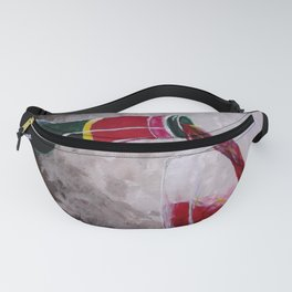 Pouring Red Fanny Pack