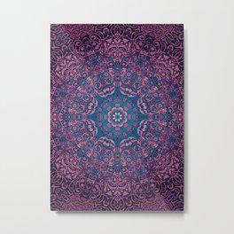 magic mandala 36 #mandala #magic #decor Metal Print