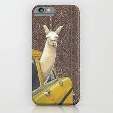 Taxi Llama iPhone 6s Slim Case