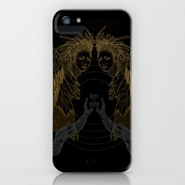 Harpies (Here & Now) iPhone Case