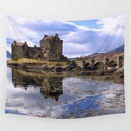 Eilean Donan Castle Scotland Wall Tapestry