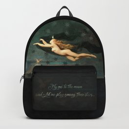 """""""Fly me to the moon"""" Backpack"""