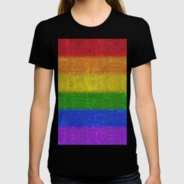Rainbow Glitter Gradient T-shirt