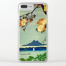 Springtime In Japan, Thinking Of You Clear iPhone Case