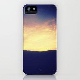 Sunset Line iPhone Case