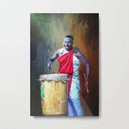 Let There Be Drums Metal Print
