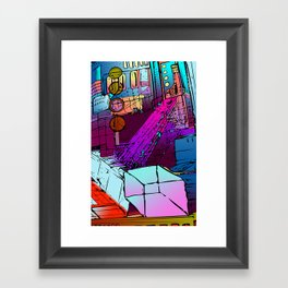 Courtyard of Thox Framed Art Print