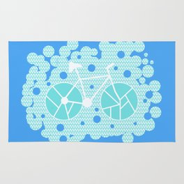 Bubbly bike Rug