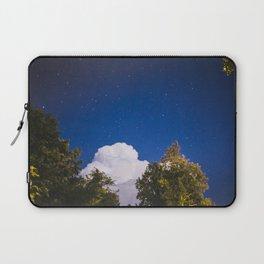 Sweet Dreams - Big White Cloud - Night Sky Stars Night Photography Laptop Sleeve