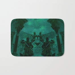 Fight Among the Gods Bath Mat