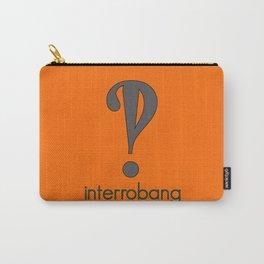 Interrobang, Serif Carry-All Pouch