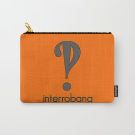 Interrobang, Serif Carry-All Pouch