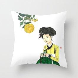 Mi-in-do 1700s_Solnekim Throw Pillow
