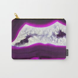 Luminescent Agate Carry-All Pouch