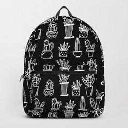 Black Planty Backpack