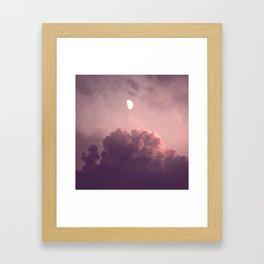 EVENING DREAM - RED Framed Art Print