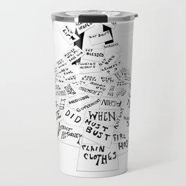 Don't Look Back (1967) Travel Mug
