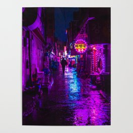 Shadowy Alley Poster