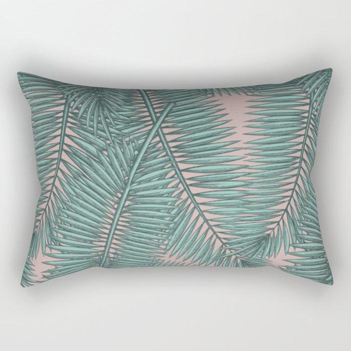 Palm dawn Rectangular Pillow
