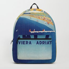 Cattolica 1920s Italy travel Backpack