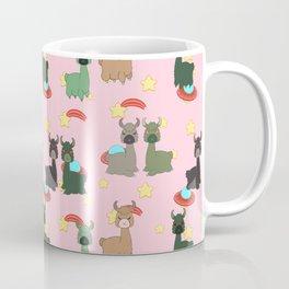 Space Llamas Coffee Mug