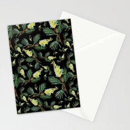 Australian Native Floral Pattern - Beautiful Grevillea Stationery Cards