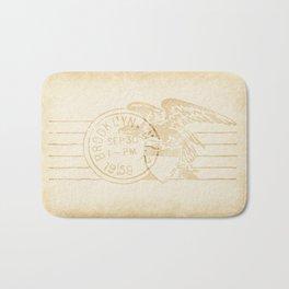 Post Card II Bath Mat