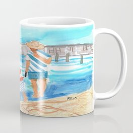 A Day at the Beach (finished) Coffee Mug