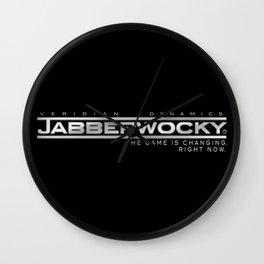 Project JABBERWOCKY Wall Clock