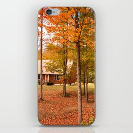 house in vermont iPhone Skin