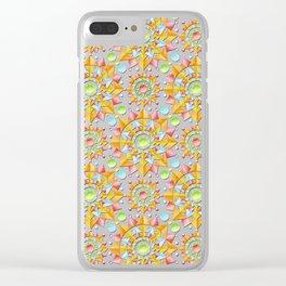 Fiesta Confetti Clear iPhone Case