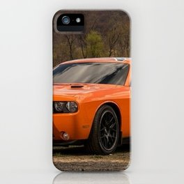 Hugger Orange Challenger RT Dukes of Hazard iPhone Case