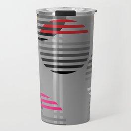 Striped baubles Travel Mug