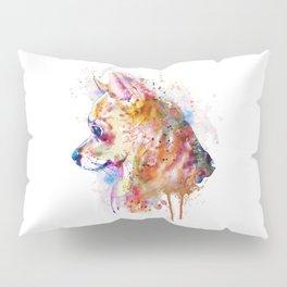 Watercolor Chihuahua Pillow Sham