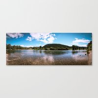 transparent Canvas Prints featuring Transparent by John Joo