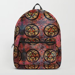 Biohazard Pattern Backpack