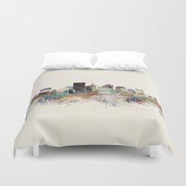 richmond virginia skyline Duvet Cover